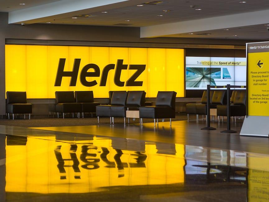 Hertz declara Insolvência nos EUA e Canadá